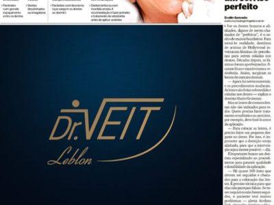 Dr. Veit sobre Lentes de Contato Dentais para o Jornal Extra