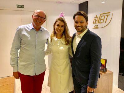 Ilustre visita do Dr. Geninho Thomé
