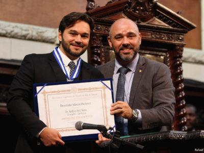 Reportagem Exclusiva da TV Alerj sobre a cerimônia de entrega da Medalha Tiradentes para o Dr. Veit
