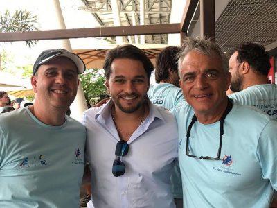 Parceria Dr. Veit e Evento Cl Vela em prol do Natal Azul 2018