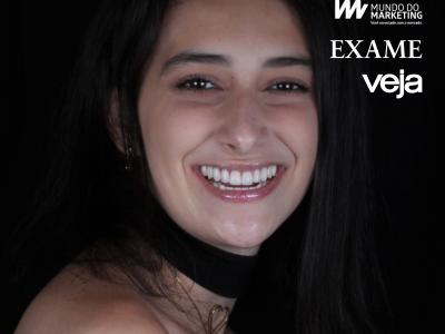 Menina que não tinha sorriso estampa campanha publicitária