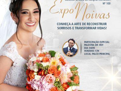 Conheça a história do sorriso oficial da 100ª edição do Expo Noivas!