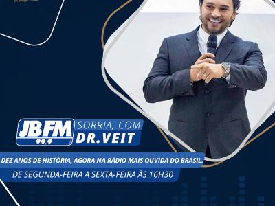 Sorria, com Dr.Veit na JB FM 99,9